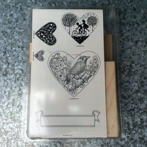 Stampin Up Take it to Heart Rubber Stamp